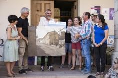 Un callejón de Trillo gana el primer premio del Concurso de Pintura Rápida