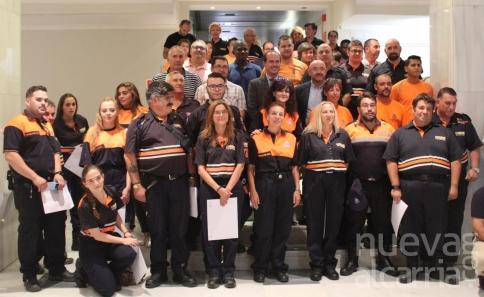 El Gobierno regional forma a 58 voluntarios de Protección Civil de la provincia de Guadalajara