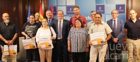 El Gobierno regional ha entregado en dos años 52 viviendas sociales en régimen de alquiler a familias de la provincia de Guadalajara