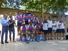 Entregados los trofeos del MTB Jardín de la Alcarria, en Brihuega