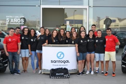 Dínamo Guadalajara y Nissan Santogal firman su acuerdo de patrocinio