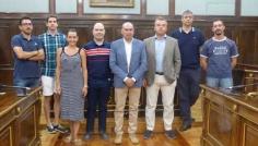 Diputación suscribe convenios de colaboración con siete clubes deportivos de la provincia