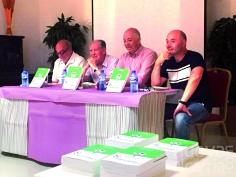 José María Bris presentó  su libro 'El fútbol en Jadraque'