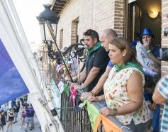 Comienzan las fiestas tras un pregón marcado por el atentado