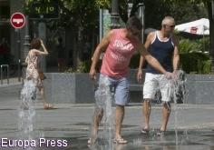 Avisos por altas temperaturas este lunes en Guadalajara