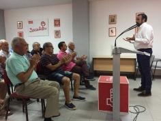 José Luis Blanco se reúne con la militancia de Toledo