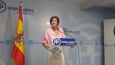 """Ana González: """"Page intenta silenciar al PP pasando el rodillo al más puro estilo de la extrema izquierda"""