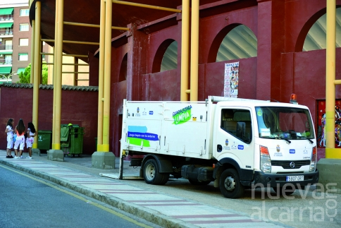 El servicio de limpieza recogió durante las fiestas 782.710 kilos de residuos
