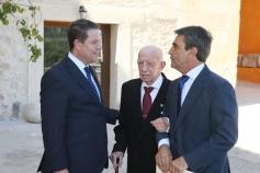 García-Page expresa sus condolencias por el fallecimiento del ganadero de reses bravas Victorino Martín Andrés