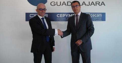 CEOE Guadalajara y Asesoría Toledo renuevan su convenio de colaboración