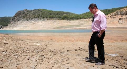 """Page reclama un acuerdo de Estado contra la permanente """"sequía estructural y política""""  del Tajo"""
