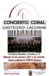 El coro Gazteizko Lagunak pone punto final a la temporada de los Amigos de la Iglesia de Santiago de Sigüenza