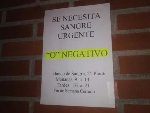 Actualización: Desbordado el Banco de Sangre de Guadalajara ante el llamamiento a la donación