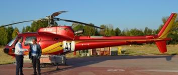 El Gobierno regional ejecuta obras de mejora en el helipuerto y accesos del Centro de Operaciones Provincial de El Serranillo