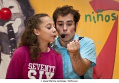 Joaco Showman y Javi Malabares repartieron risas terapéuticas con su espectáculo 'Malabares Mágicos'