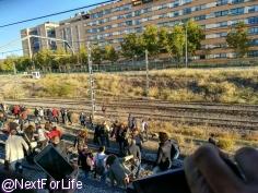 Subsanada la avería que ha bloqueado los trenes de Cercanías durante horas