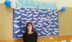 La escritora Mónica Rodríguez visita el instituto de Alovera