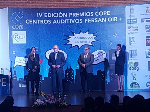 Brillante entrega de la IV edición de los premios de COPE Guadalajara