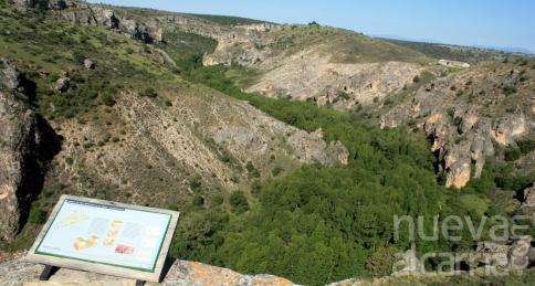 Barranco del Río Dulce, el privilegiado refugio de Rodríguez de la Fuente y 'sus' rapaces