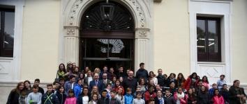 Los niños toman la palabra en la Diputación para alertar sobre el cambio climático