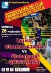 El Lujisa aprovechará la visita del Quintanar para presentar sus equipos