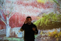 Clase magistral de paisajismo con David Santiago en la Casa de la Cultura