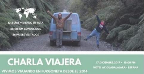 Los guadalajareños Lidia Geniz y Javier García hacen un paréntesis en su 'Van life'