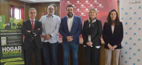 CaixaBank se suma al Programa de Rehabilitación Energética en Viviendas de Azuqueca