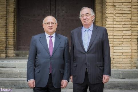 Amado Franco nuevo presidente de la Fundación Ibercaja