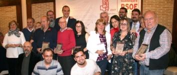 Los socialistas de Guadalajara celebran su cena de Navidad solidaria