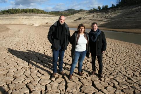 La consejera de Fomento pide en Entrepeñas un mínimo en los pantanos de cabecera del Tajo de 900 hectómetros