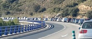 Importantes atascos a causa de las obras de mejora en Cuatro Caminos