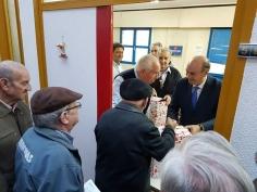 El presidente de la Diputación felicita la Navidad a la Asociación de Pensionistas por Enfermedad e Invalidez