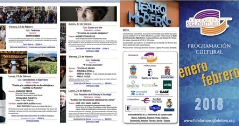La Fundación Siglo Futuro presenta la programación cultural de los meses de enero y febrero