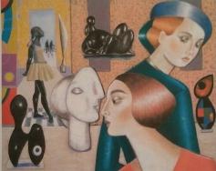 El venezolano Jairo Camacho muestra su obra en la Sala de Arte de la Diputación