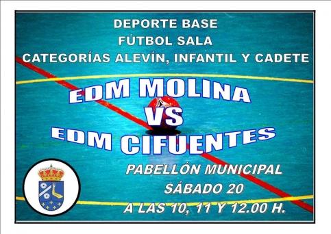 Encuentros Deportivos en Molina de Aragón 19-20-21 de Enero
