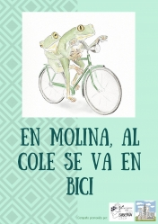 En Molina, al cole se va en bici