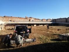 Comienza la redacción del proyecto del Alcázar Real y se realizan los primeros georadares