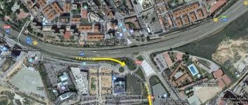 El Ayuntamiento prolongará la calle San Agustín y hará un acceso directo desde la A2 a Eduardo Guitián sin pasar por Cuatro Caminos