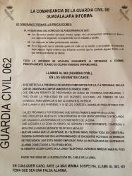 3ª noche consecutiva de robos en la Comarca De Molina de Aragón