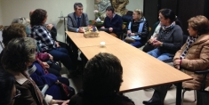 Román se reúne con las Conferencias de San Vicente de Paúl de Guadalajara