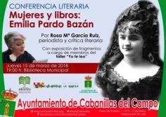 Conferencias en la Biblioteca de Cabanillas para conocer a dos pioneras de las letras: Pardo Bazán y Mary Shelley