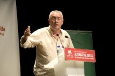 Cayo Lara participará en un coloquio sobre pensiones el próximo martes en Guadalajara