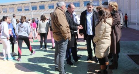 La Junta invierte 37.550 euros en la mejora del patio de un instituto de El Casar