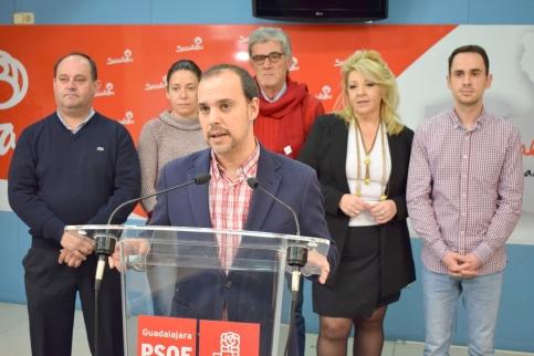 Alcaldes del PSOE de Guadalajara urgen al Gobierno a poner medidas de seguridad en las vías de acceso a sus municipios