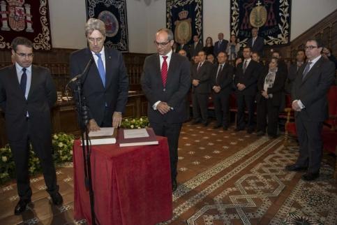 José Vicente Saz, nuevo rector de la Universidad de Alcalá