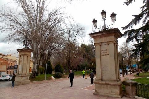 El Ayuntamiento cierra varios parques debido a las fuertes rachas de viento