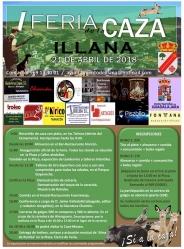 Ayuntamiento y Asociación de Cazadores de Illana organizan la I Feria de la Caza con interesantes propuestas