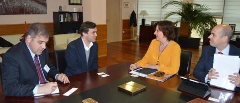 La empresa de logística Luís Simões afianza su implantación en Cabanillas