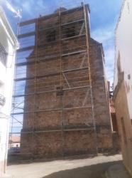 Reparación de la iglesia de Cubillejo de la Sierra